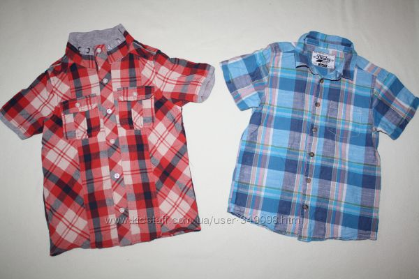 Фирменные рубашки GEORGE и MATALAN