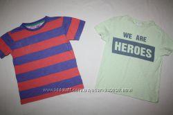 Фирменные футболки  ZARA и TU