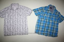 Рубашки NEXT и VERTBAUDET состояние новых