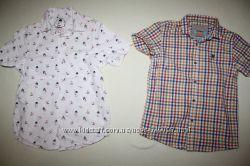 Рубашки NEXT и REBEL отличное состояние