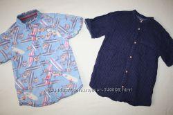 Фирменные рубашки ZARA и REBEL