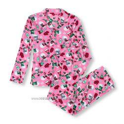 Флисовая новогодняя пижама The Childrens Place Adult. Взрослая