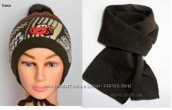 Комплект демисезонный Arctic - шапка и шарф Тачки. Двойная осень