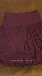 alexandr McQueen оригинал Италия юбка вишневая