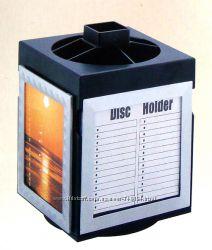 Подставка для дисков, канцтоваров и фоторамка, 3 в 1