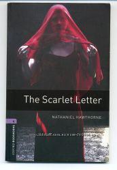Книга - Алая буква, Натаниель Готорн на англ. с  аудио CD