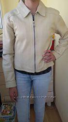 Кожанная куртка R. I. Clothing co размер 34