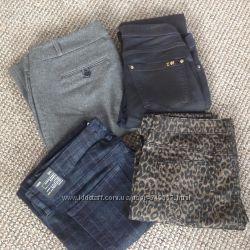 Брюки джинсы Zara, Forever21, Loft, Gap новые 44-50 разм. из США