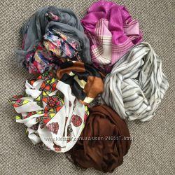 Шарфы и платки разные