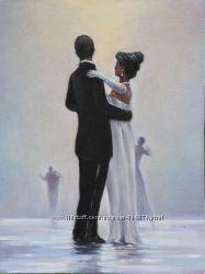 Копия картины Джека Веттриано Танцуй меня до конца любви