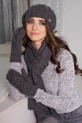Осень-зиме от ТМ Braxton. Комплекты, береты, шапки, снуды, ушанки