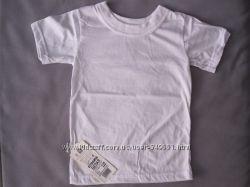 Детская футболка фуфайка белая р-р 92,  тм Габби