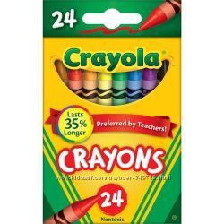 Восковые карандаши Crayola 24 шт.