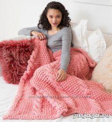 Дизайнерское вязание АКСАSTUDIO Вязаные одеяла и пледы