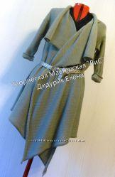 Джемпер, платье, туника, машинное вязание на заказ.