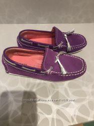 Замшевые туфли Geox
