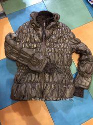 Демисезонная куртка с напылением