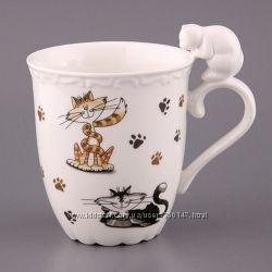 Чашки - котики -  фарфор