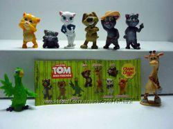 кот Том и его друзья - серия чупа-чупс - киндер -