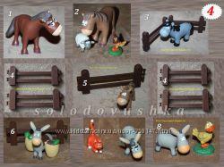Животные на ферме - Игрушки - Деагостини -