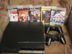 приставка, консоль PlayStation 3 Slim бу