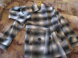 пальто женское бу , размер 46-48