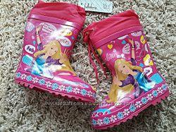 Красивенные резиновые сапожки для принцесс