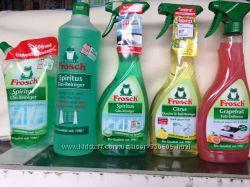 Моющие средства спрей для кухни и ванной тмFrosch