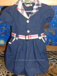 Летние платья 110-116