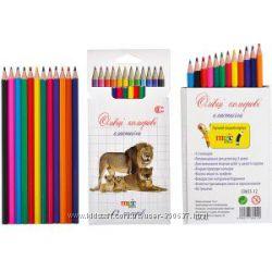 Цветные гнущиеся карандаши 12 цветов