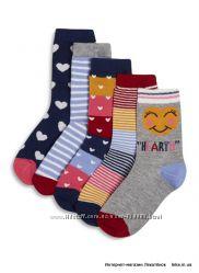 Носочки для девочек 2-13 лет Primark, Mothercare, H&M и др. Англия