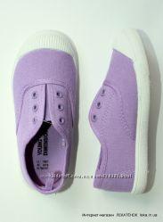 Полукеды без шнурков для девочек YD Primark Англия.
