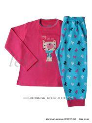 Пижамы трикотажные для девочек до 2-х лет Primark, Early days - Англия.