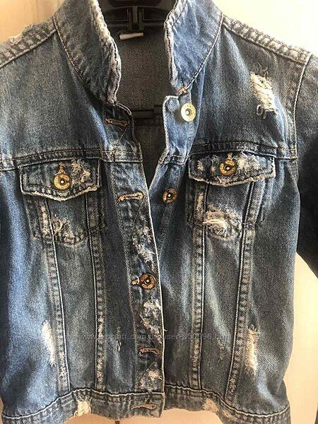 Джинсовая курточка NEXT