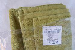полотенце оливковое махровое хлопок, Руно
