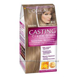 краска для волос без аммиака Loreal Casting 810 Перламутровый русый