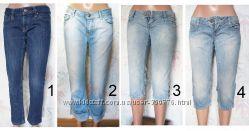 капри джинсовые XS - S - M