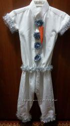 Новогодний костюм снеговика. Прокат. Кременчуг.