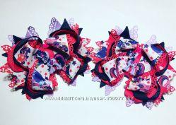 банты в школу, украшения для волос, галстуки, бабочки