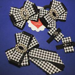 Банты, украшения для волос, аксессуары для девочек, галстукброшь