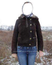 Продам короткую куртку-дублёнку производства Турции.