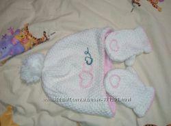 Набор шапка и рукавички Mothercare
