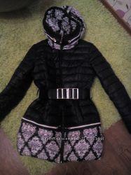 зимняя куртка пальто в идеал сост