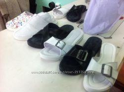 Новые модели кожаных тапочек под заказ