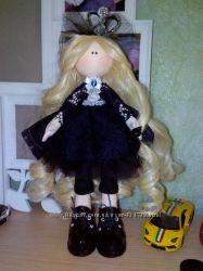 Шикарная кукла большеножка ручной работы