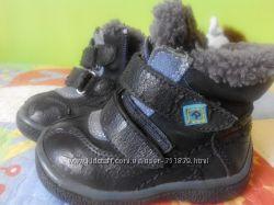 Зимние ботинки 21р. натуральная цегейка