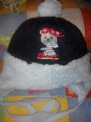 Зимняя шапка на 46-48см.