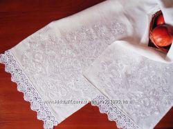 Рушник вышитый белый
