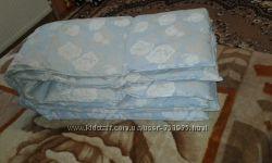 Пуховое одеяло двухспальное 170 на 220