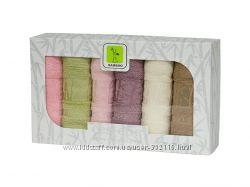 бамбуковые полотенца 30х50см